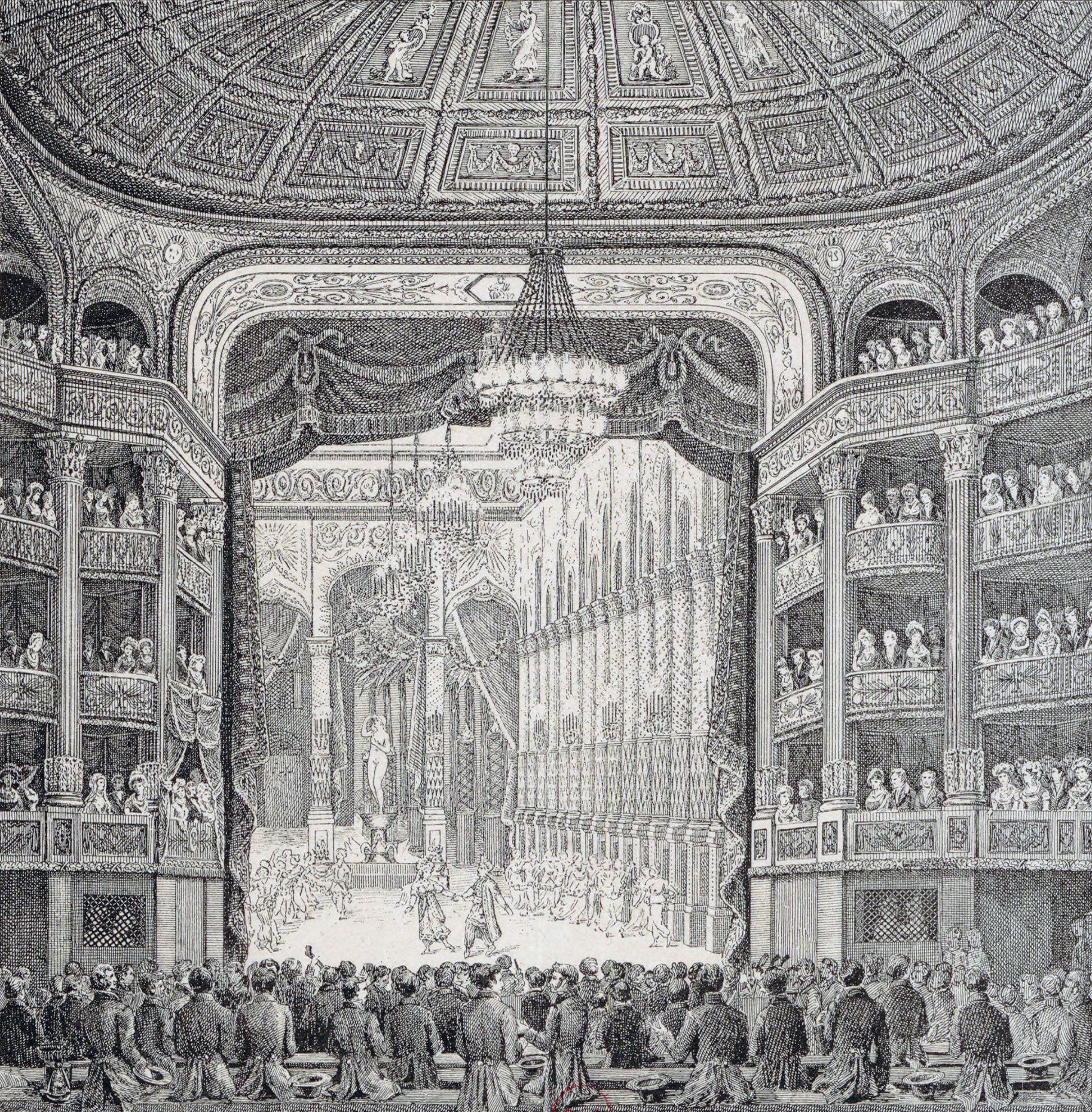 Inauguration of the Salle Le Peletier with Les Bayadères 1821 Gallica btv1b84367769 adjusted
